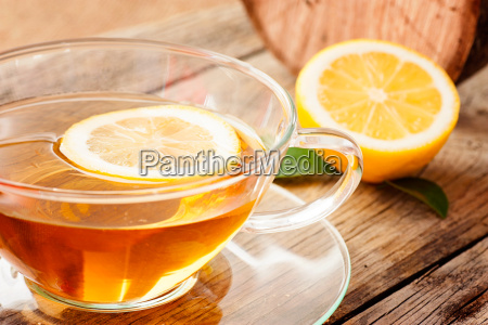 lemon fruit tea