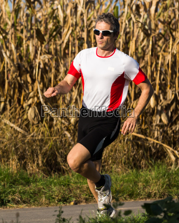 jogger im wettkampf