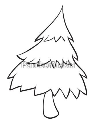 a tree sketch