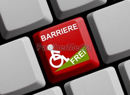 barrierefrei online