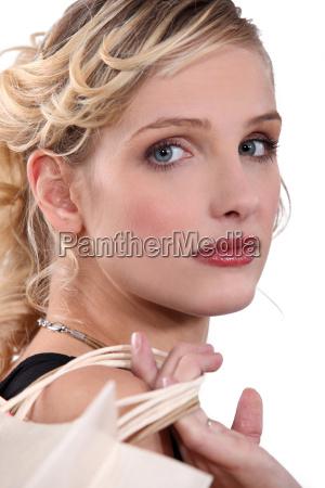 portrait of a downbeat woman