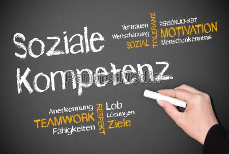 soziale, kompetenz - 8706900