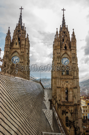 basilica towers and roof