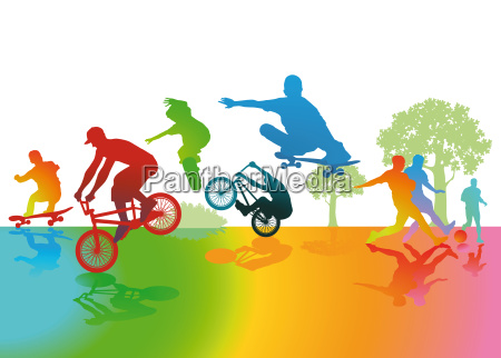 spass und sport im park