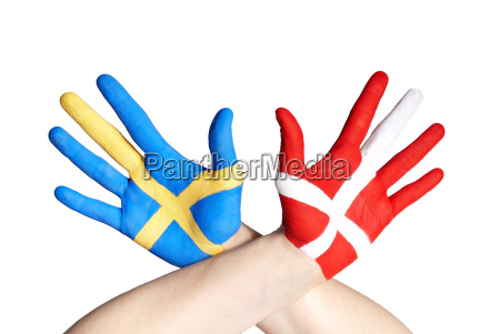 danish and swedish hands