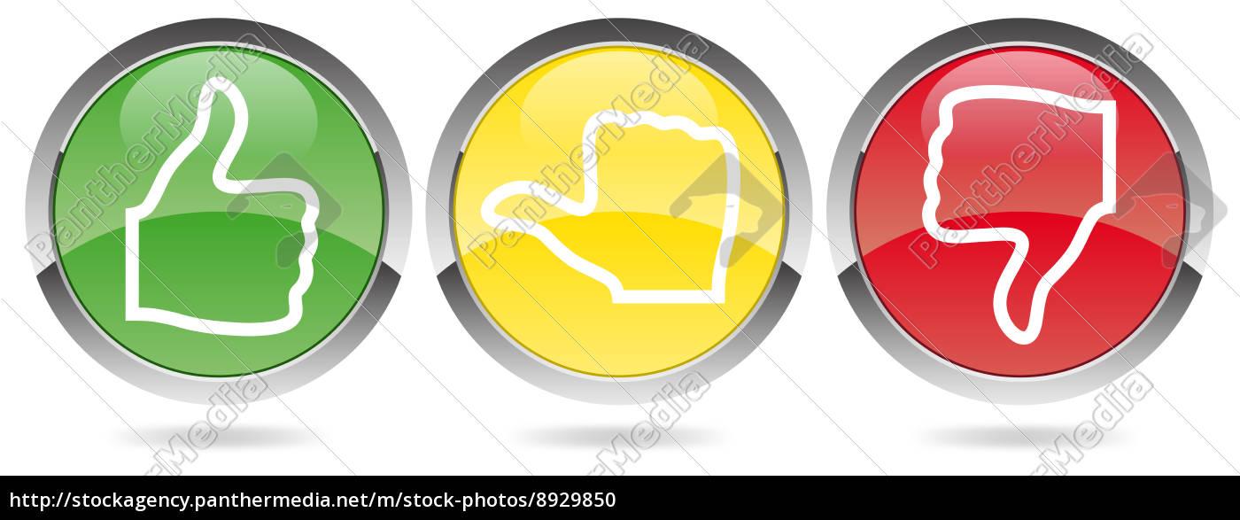 abstimmung ampel rot gelb gr n stock photo 8929850 bildagentur panthermedia. Black Bedroom Furniture Sets. Home Design Ideas