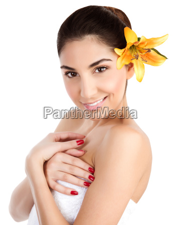 arabic woman in spa