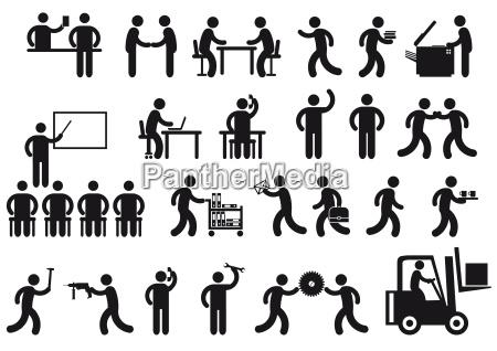 arbeitsplaetze piktogramm