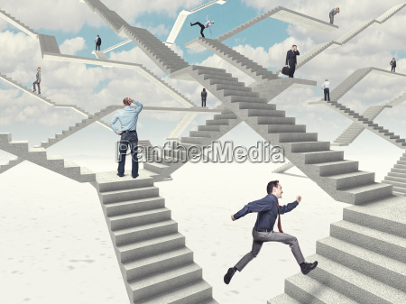 arbeit treppen