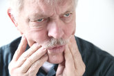 tooth or cheek pain in older