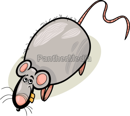 rat cartoon character illustration