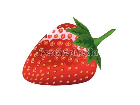 gesundheit erdbeere beere frisch erdbeereis delicious
