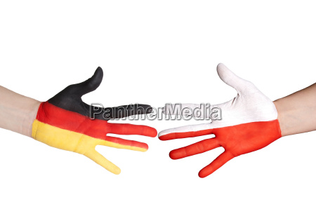 german and polish handshake