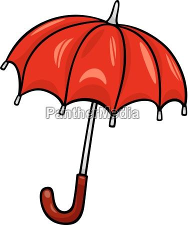 umbrella clip art cartoon illustration