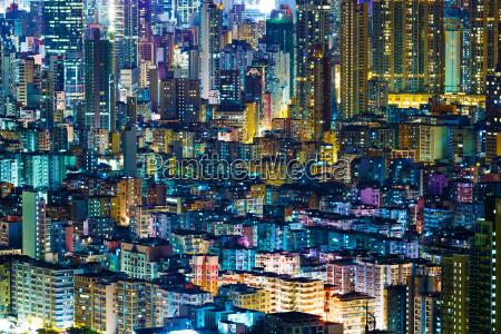 wohngebaeude in hong kong