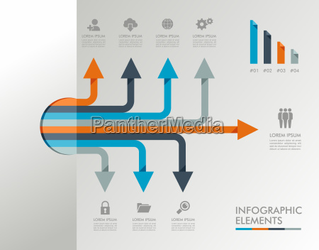 infographic template graphic elements illustration
