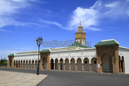 turm marokko moschee rabat mosque ahl