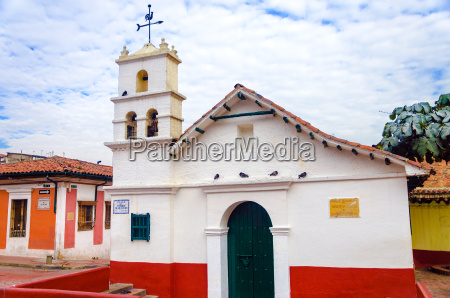 historic chapel in bogota