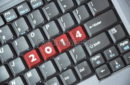 2014 on keyboard