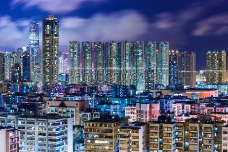 blau haus gebaeude stadt leben bestehen