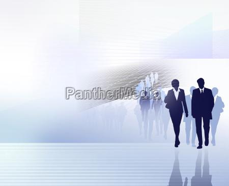 menschen business grafik