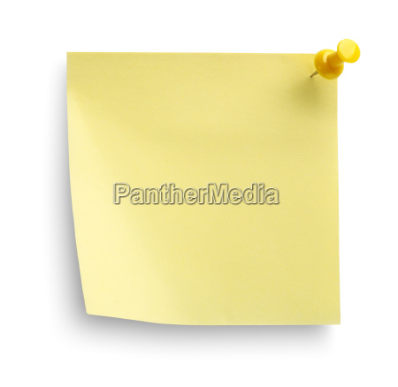 yellow notebook isoliert