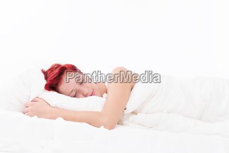 friedliches schlafen