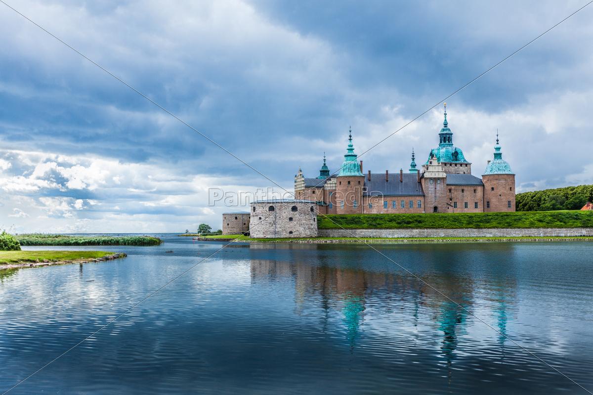 historisches schloss kalmar in schweden skandinavien lizenzfreies bild 10528787. Black Bedroom Furniture Sets. Home Design Ideas