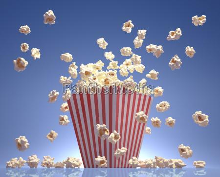 popcorn fliegen