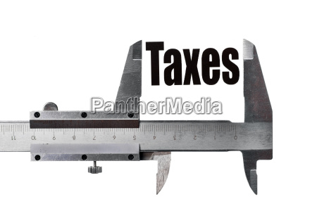 measuring taxes