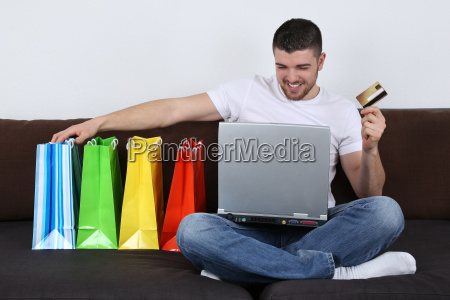 einkaufen im internet mit einkaufstueten