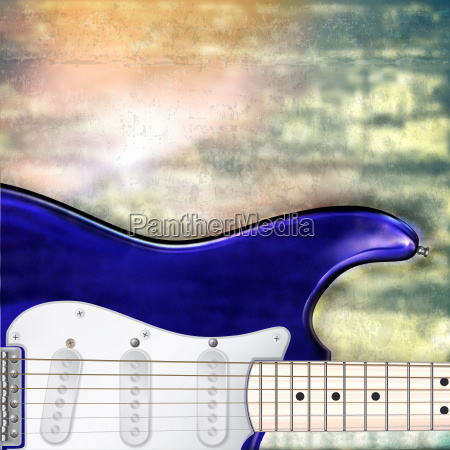 abstract jazz rock background with electric
