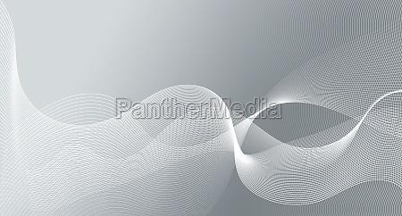 abstrakt wellen bewegung