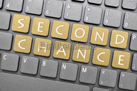 second chance on keyboard
