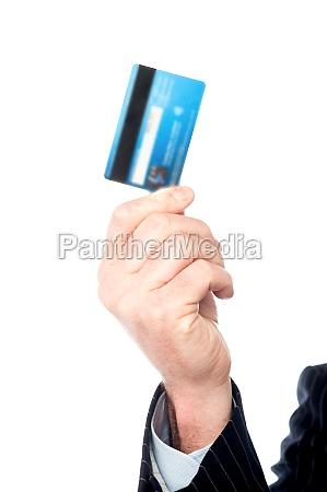foto von hand holding geldkarte des