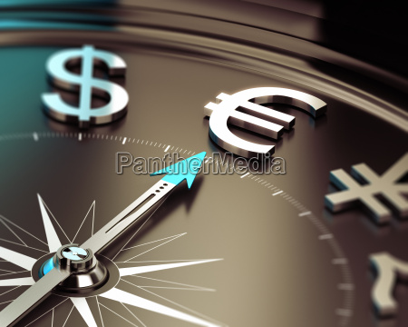 euro investment concept