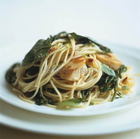food aliment mollusc kitchen cuisine spaghetti