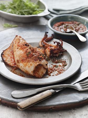 food aliment spice condiment mollusc sepia