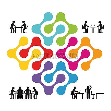 zusammenarbeit und partnerschaft
