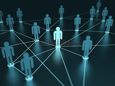 netzwerk menschen