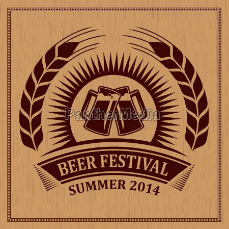 beer festival icon symbol vector