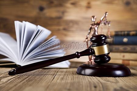 justiz konzept