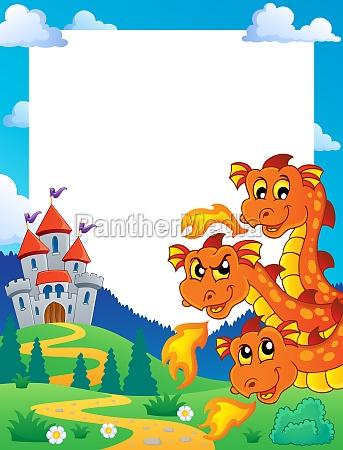 dragon theme frame 1