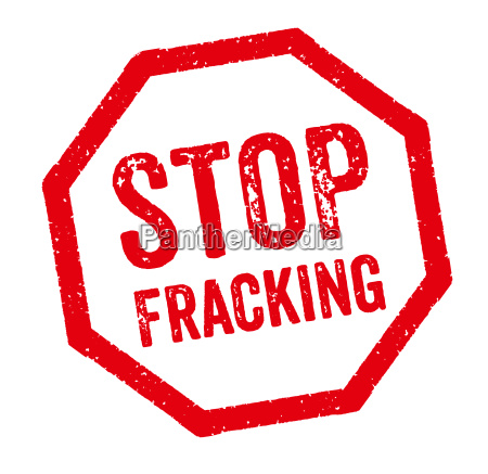 roter stempel stop fracking