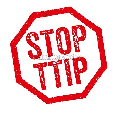 roter stempel stop ttip