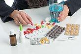 viele verschiedene medikamente