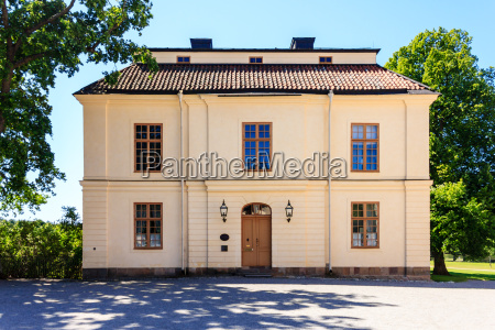 the old building located at drottningholm