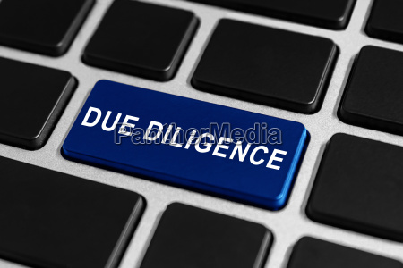 due diligence button on keyboard