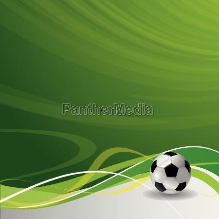 fußballspieler, mit, ball - 12224250