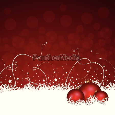 christmas decoration in red